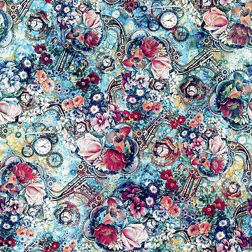 Steampunk Flowers II by rizapeker