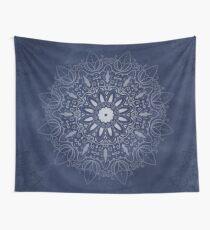 Tela decorativa Indigo Mystique Mandala