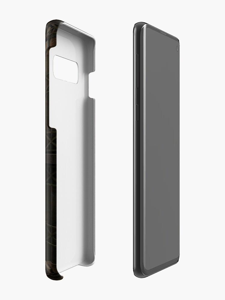 Alternate view of Infernal Steampunk Vintage Machine #4 phone cases Case & Skin for Samsung Galaxy