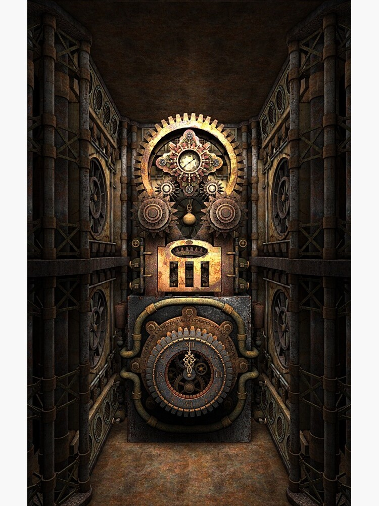 Infernal Steampunk Vintage Machine #4 phone cases by SC001