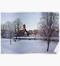 Peebles In Winter Poster