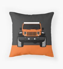 [Jeep] ROXY Orange Throw Pillow
