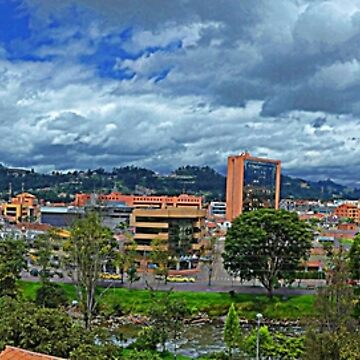 South Cuenca, Ecuador, Panorama by alabca