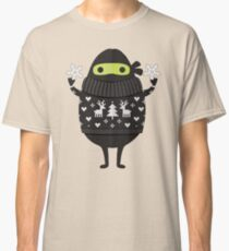 Ninjacado in Holiday Sweater Classic T-Shirt