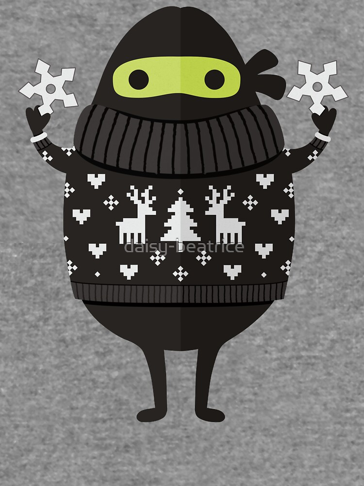 Ninjacado in Holiday Sweater by daisy-beatrice