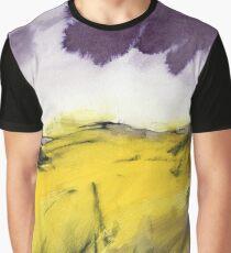 Autumn Glow - Peak District Landscape painting Graphic T-Shirt