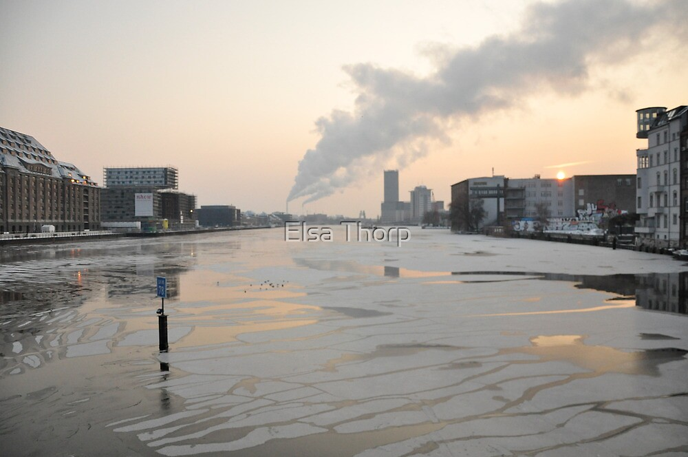 A December Berlin morning, 09 by Elsa Thorp
