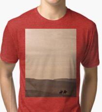 an inspiring Egypt landscape Tri-blend T-Shirt