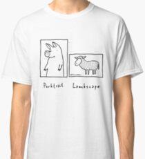 Porktrait Classic T-Shirt