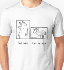 Camiseta ajustada Porktrait
