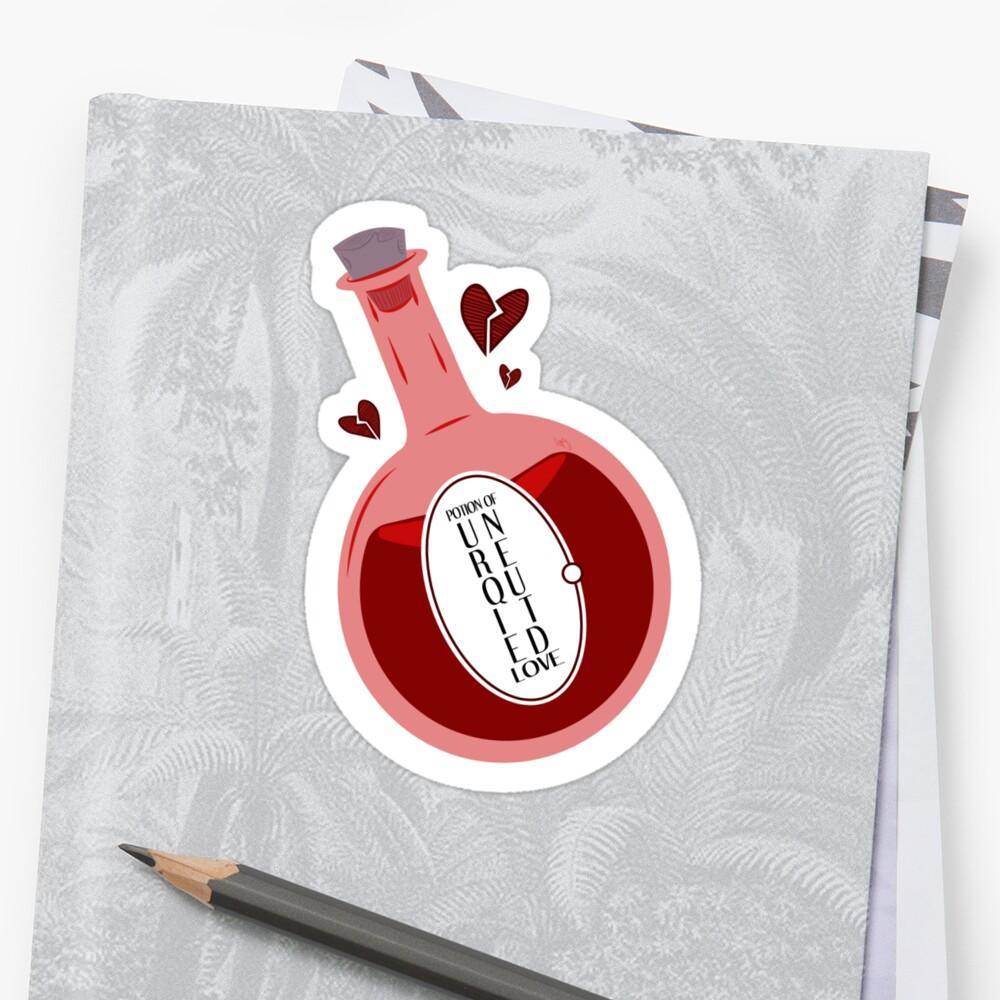 [Unrequited] Love Potion Sticker
