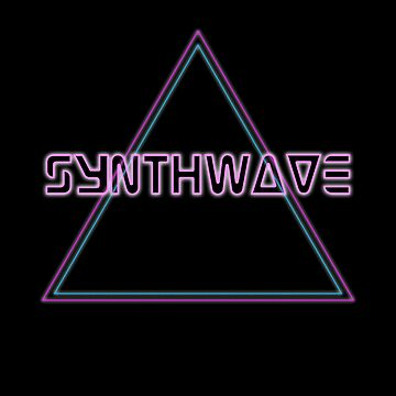 Synthwave, Retrowave Design For The Eighties Music Lovers by Tengerimalac75