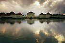 Nymphenburg Palace at Dusk by Kasia-D