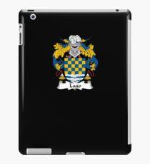 Lago Coat of Arms - Family Crest Shirt iPad Case/Skin