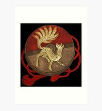Vintage Ninetails Art Print