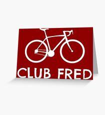 Club Fred Cycling Greeting Card