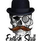 english skull by clad63