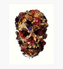 Skull mcqueen Art Print