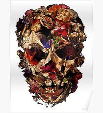 Skull mcqueen Poster