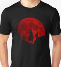 Red Moon Cowboy - Red Deal Redemption 2 Unisex T-Shirt