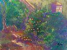 Fallbrook Garden (pastel) by Niki Hilsabeck