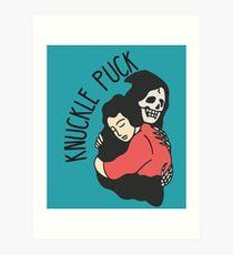 Knöchel Puck Kunstdruck