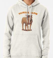 Menschlicher Bauernhof Hoodie