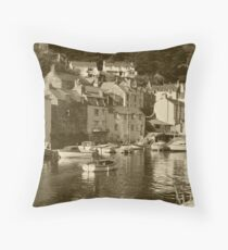 Polperro Throw Pillow