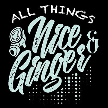 All Things Nice And Ginger Cute Ginger Lover  by allsortsmarket
