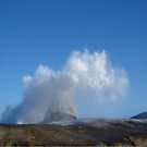 Tasmanian Blowhole - Blowing into the Blue by KazM