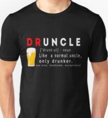 Druncle Beer Funny Gift T-shirt  Unisex T-Shirt