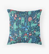 Sloths garden Floor Pillow