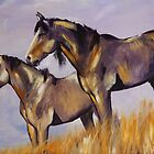 Mustangs by Ela Ladwig