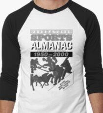 Back to the Future Almanac B&W Baseball ¾ Sleeve T-Shirt