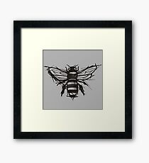Sketchy Bee Framed Print