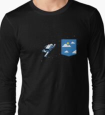 Space Pocket Long Sleeve T-Shirt
