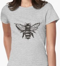Sketchy Bee Women's Fitted T-Shirt