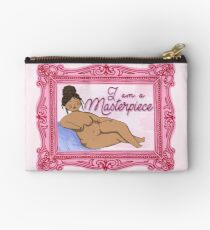 I Am A Masterpiece Studio Pouch