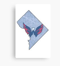 Washington DC Caps Canvas Print