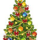 Christmas Tree Winter Season Festive by lucykateburton