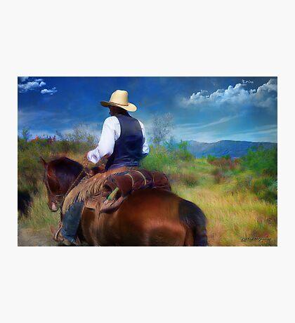 Trail Rider Photographic Print