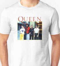 Camiseta ajustada banda reina