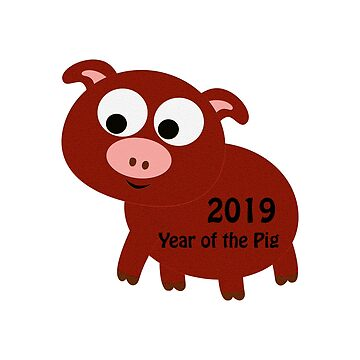 2019 Year of the Pig by Eggtooth
