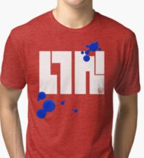 Splat Inkling Graphic Tri-blend T-Shirt