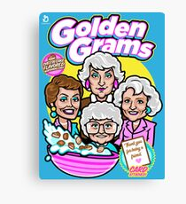Golden Grams Cereal Canvas Print