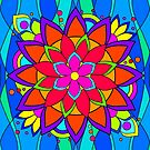 Modern Hippie Flower by Susan Sowers