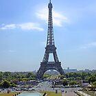 Eiffel Tower - Tour Eiffel Paris France by Buckwhite
