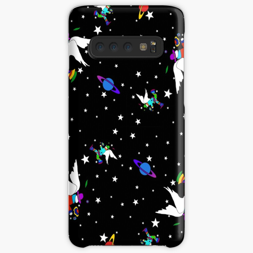 Angel Dudes Starry Night - black Case & Skin for Samsung Galaxy