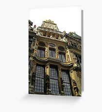 Gilded Baroque Greeting Card