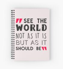 See The World Spiral Notebook